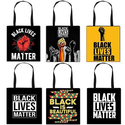 Black Lives Matter Tote Bags