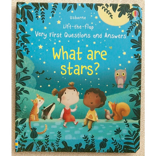 Lift the Flap Questions and Answers What Are Stars  3D Picture Board Book