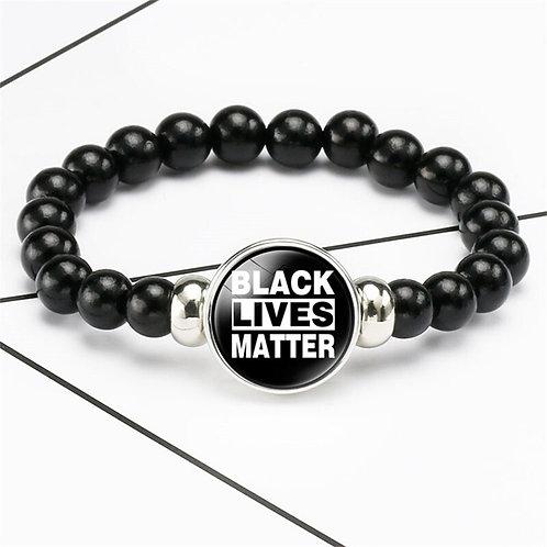 Black Lives Matter Beads Bracelet