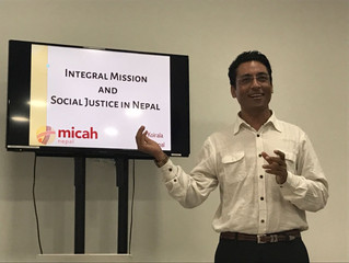 Micah Nepal: Thir KC on social justice and integral mission in Nepal