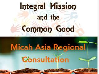 Apr 2017: Micah Asia Regional Consultation