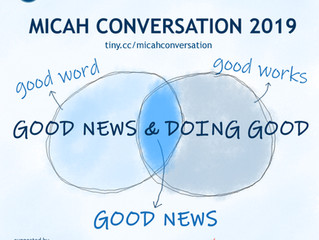 (UPCOMING) Micah Conversation 2019