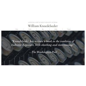 https://www.williamknoedelseder.com website home page