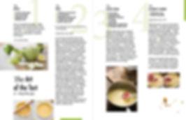 Apple Tart Recipe layout by Keshishian Kreative