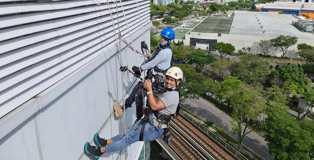 Seagate Rope Access Technicians