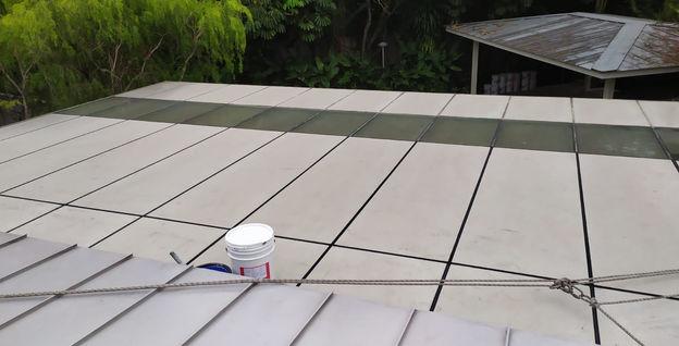 260 Holland Road Roof Sealant Black Silicon Installation