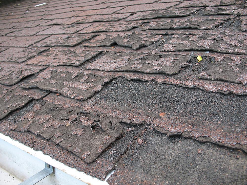 Damaged Roof Shingle Repair