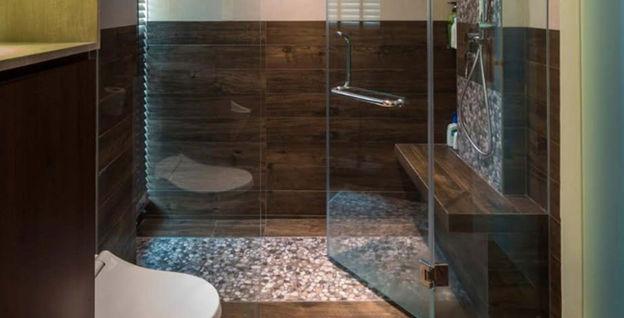 Completed Residential Toilet Waterproofing Works