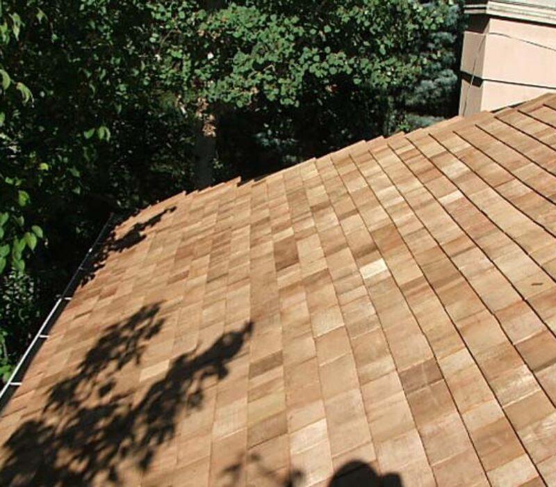 Wooden Shingle Roof