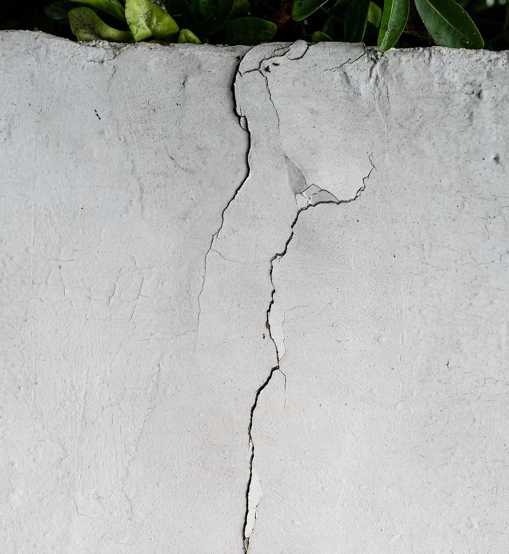 Cracked External Wall