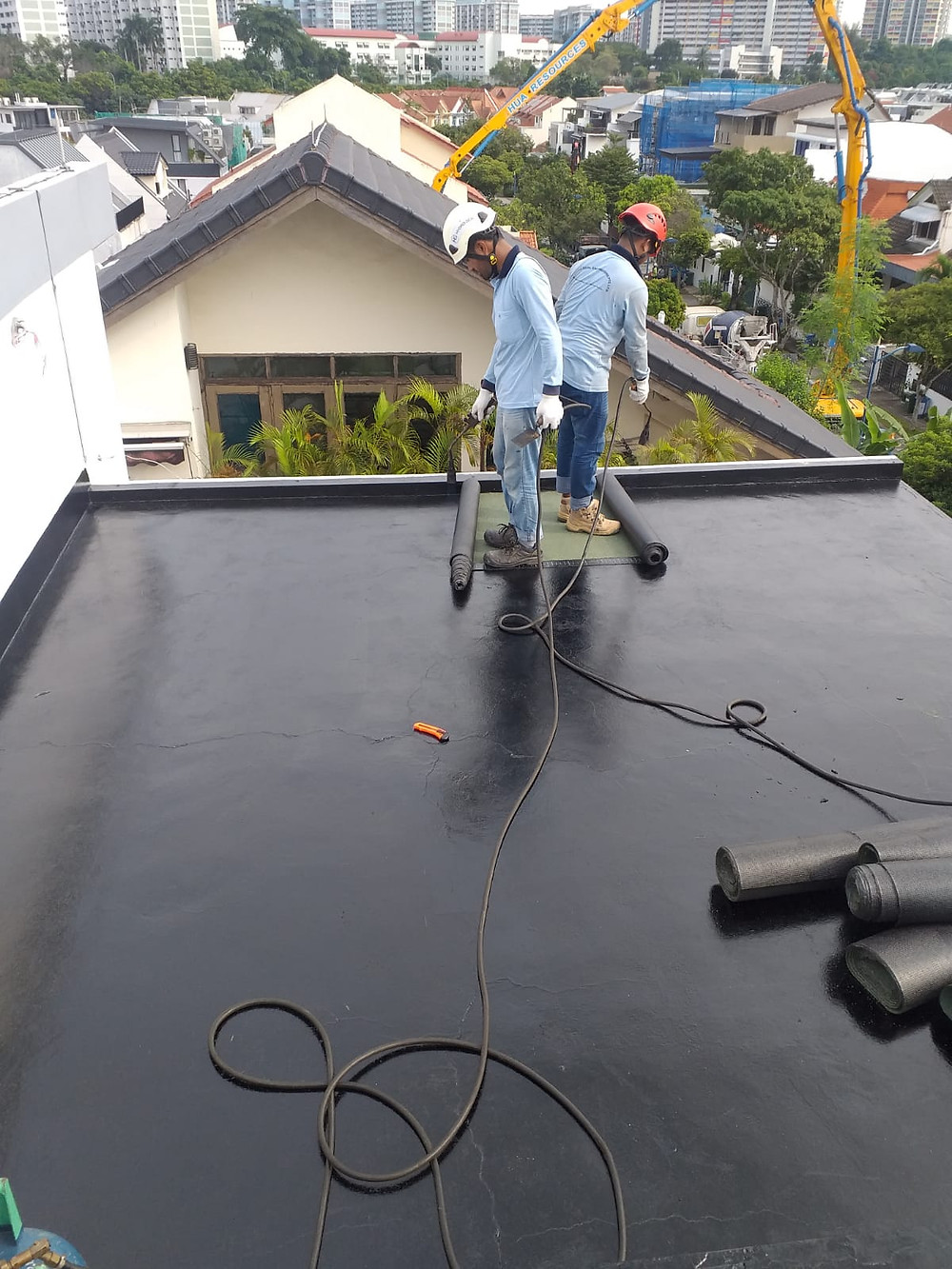 Torch-on Membrane Waterproofing Singapore