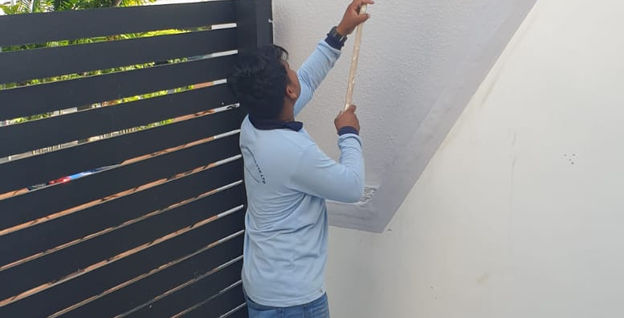 116 Farrer Road Residential Wall Painting
