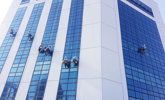 Junction 8 Office Tower Sealant Repair & Inspection