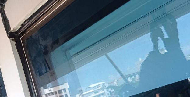177 Sims Avenue Window Sealant Work via Rope Access