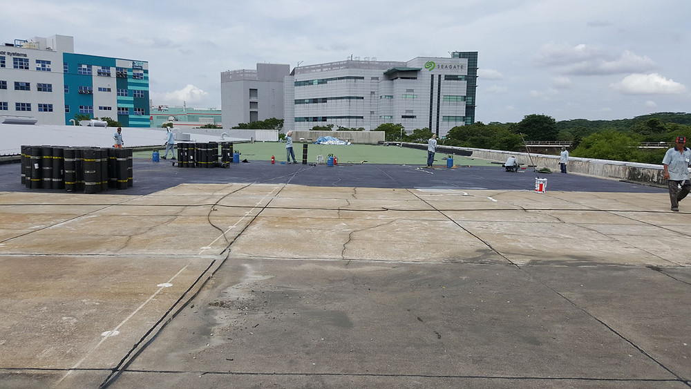 Reinforced Concrete Flat Roof