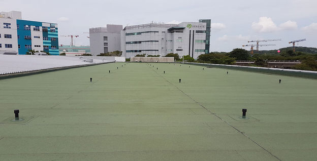 Completed Torch-on Membrane to RC Flat Roof at Seagate Building