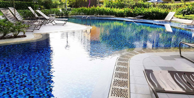 Completed Swimming Pool Waterproofing Works