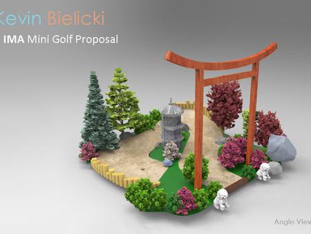 Miniature Golf for the IMA