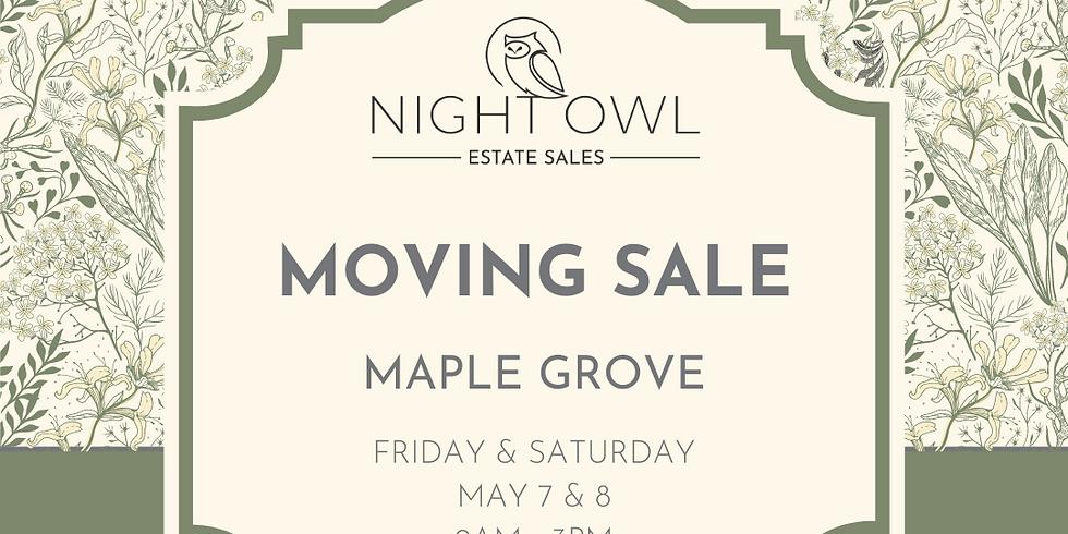 LOVELY, FULL HOUSE MOVING SALE IN MAPLE GROVE