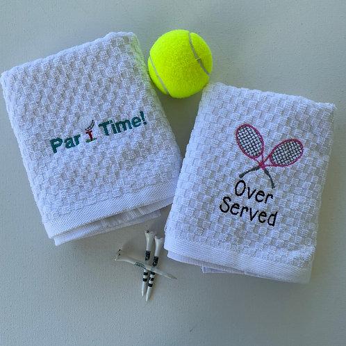 Tennis & Golf Kitchen Towels