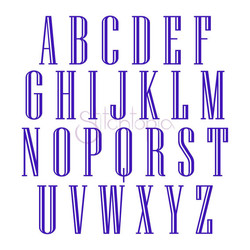 Engraved Monogram