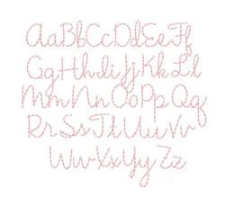 Gracie May font