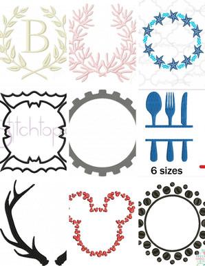 Frame designs