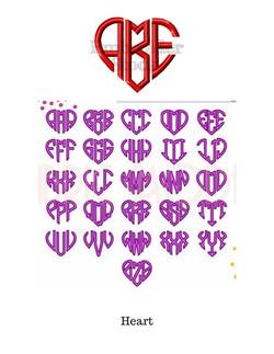 Heart Monogram