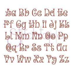 Curly Font