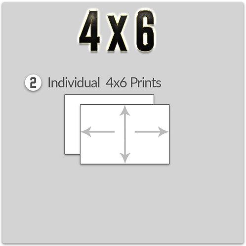 A la cart - 4x6 Print