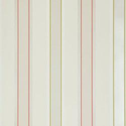 Terracotta Stripe wallpaper.