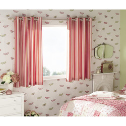 Beechwood displayed curtain