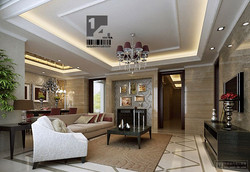 Modern Chinese Classic Living Room