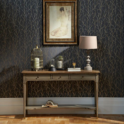 silver twig wallpaper display.