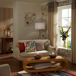 VD17 Modern Living Room
