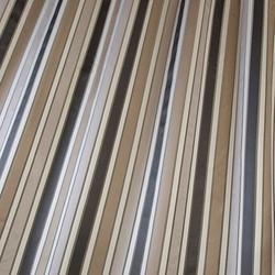 Caramel Linear Fabric.