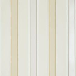 Caramel stripe wallpaper.
