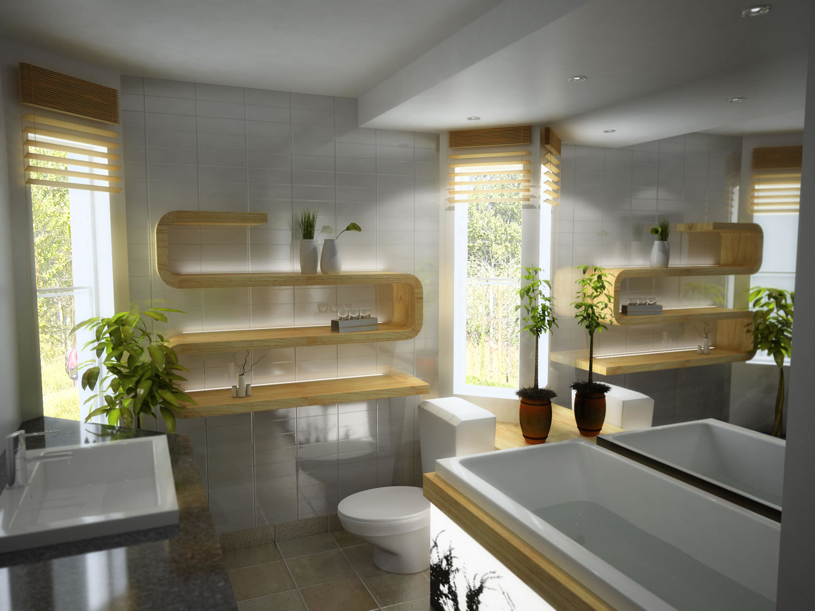 VD7 Modern Bathroom
