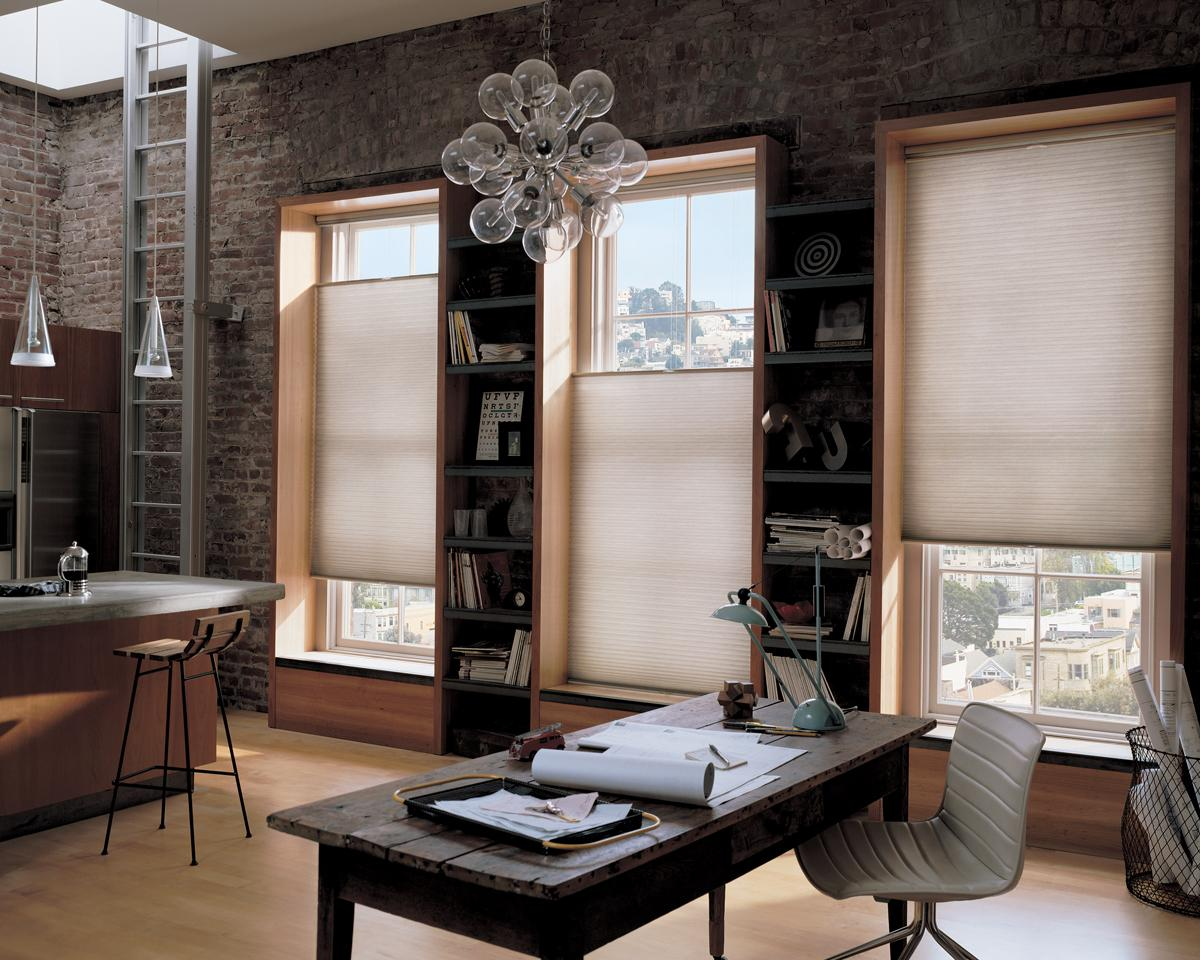 Living room style pleated Blinds