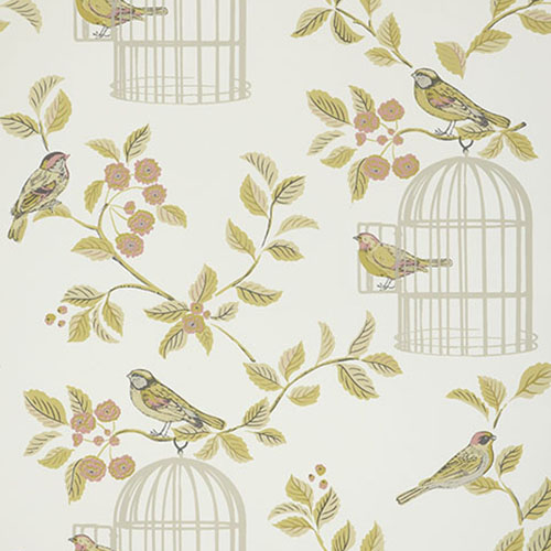Seafoam iLiv Twig Wallpaper