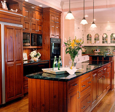 VD3 Traditional Oak  Kitchen