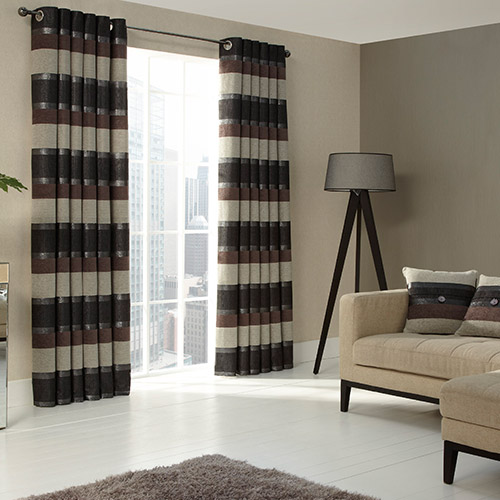 Stria eyelet Curtain