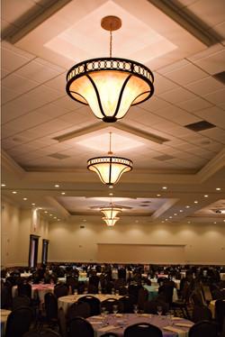 Interior decorative lights.