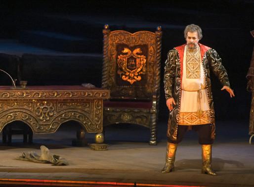«Борис Годунов» (…за кулисами Днепровского театра)