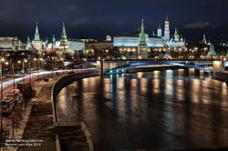 Ночная Москва.