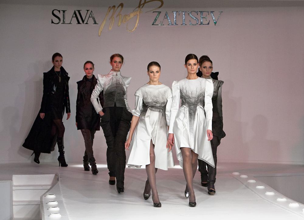 Показ моды В.Зайцева