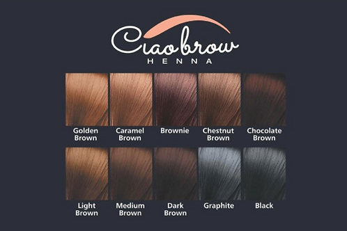 Ciaobrow shade guide
