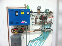 Electirc Boiler for for permafrost protection