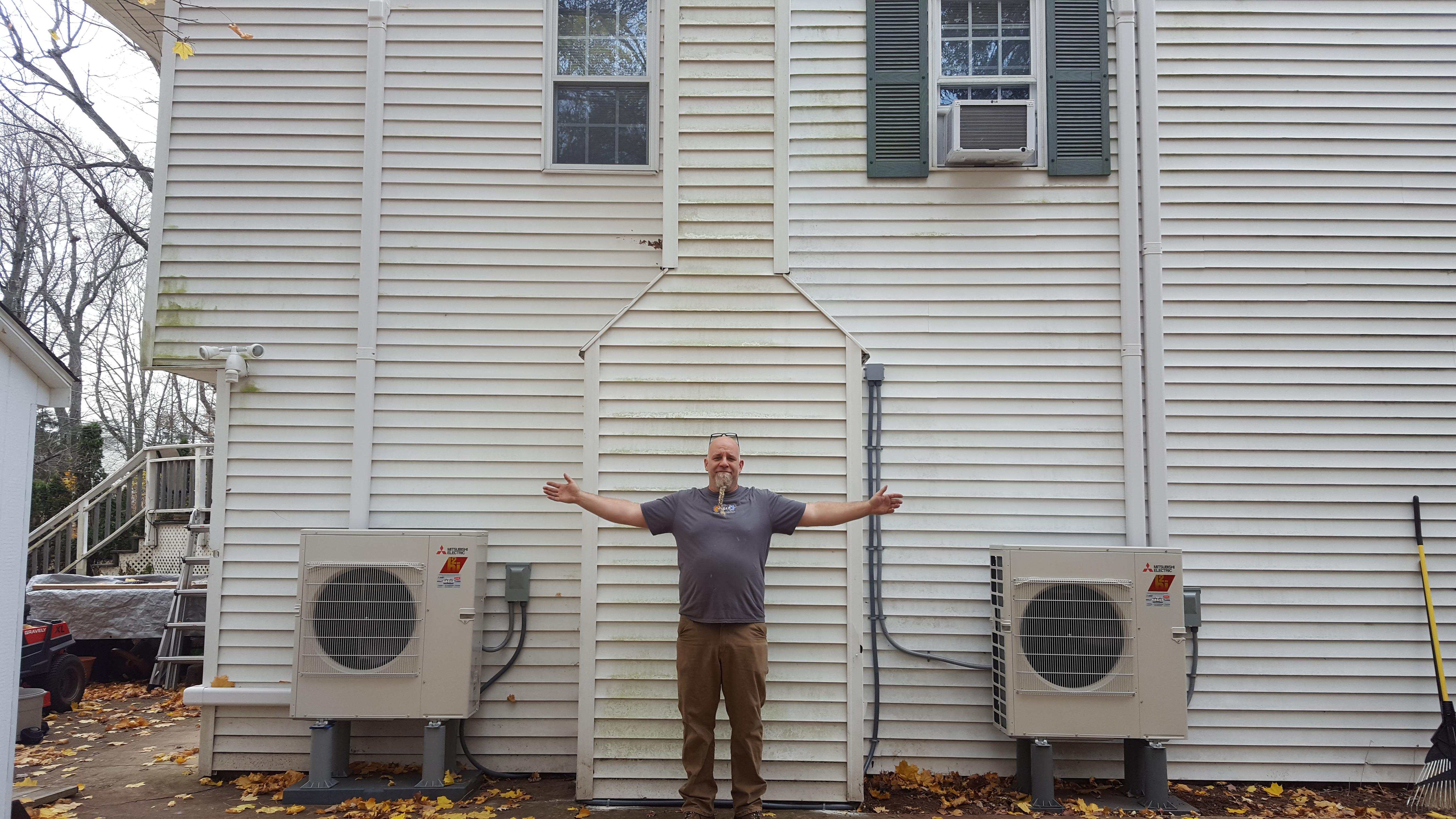 G.Hager Inc. Master Mechanic Mark Steffon proud of his Mitsubishi installations