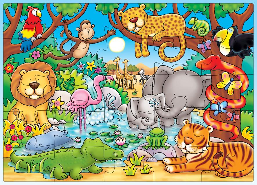 Qui est dans la jungle ?
